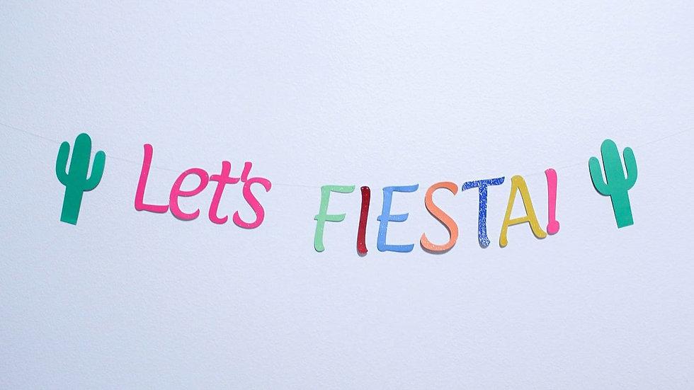 """""""Let's FIESTA"""" Banner"""
