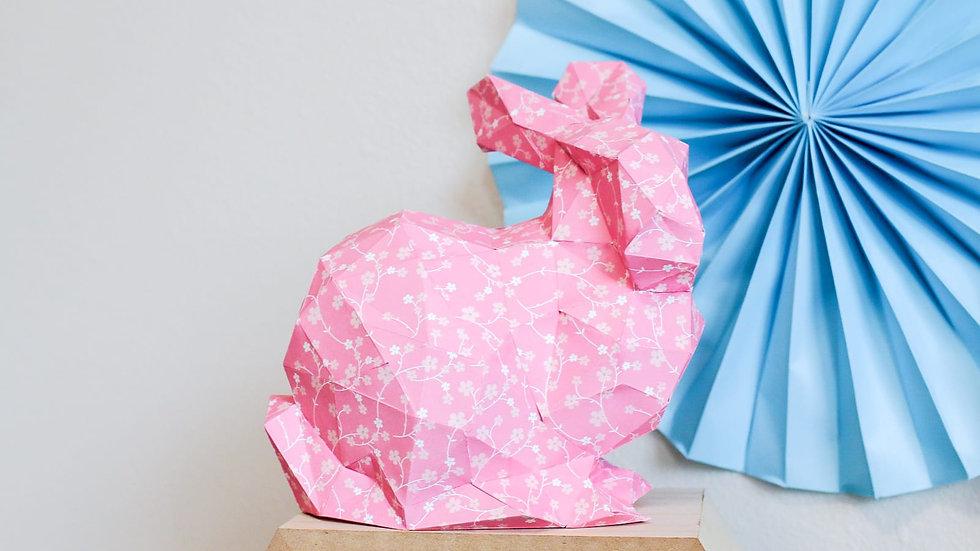 PDF TEMPLATE 3D Bunny Model