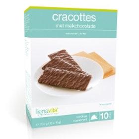 Cracottes met melkchocolade (10 zakjes) - #0301