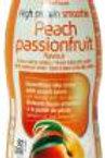 Perzik-passievruchtenshake (250ml) - #0265