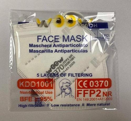 Atemschutzmaske  FFP2 NR       50Stück