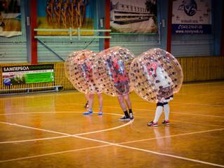Бампербол - футбол для настоящих мужиков!