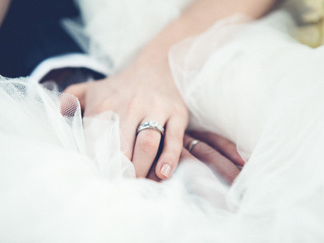 Wedding rings are symbolic gestures of commitment