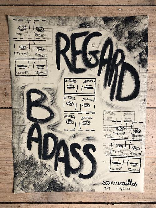 """Affiche """"Badass"""""""