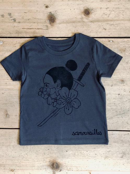 "T-shirt enfant ""SAMOURAILLES"""