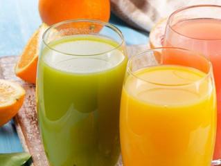 Ah ce fameux verre de jus de fruits !