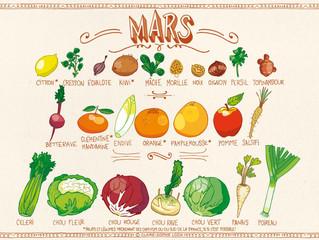 Les bons fruits et légumes de MARS