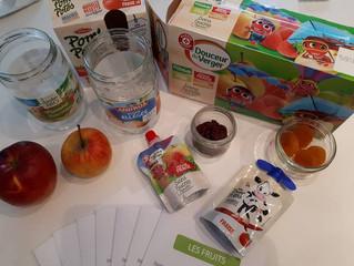Atelier sur les fruits pour les enfants de Saint-Just