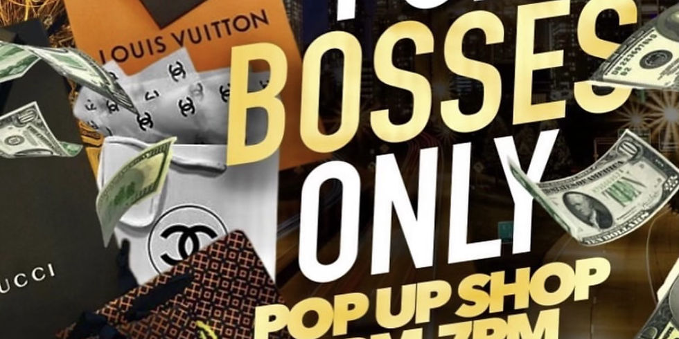 BOSS LADIES ONLY POP-UP SHOP EVENT