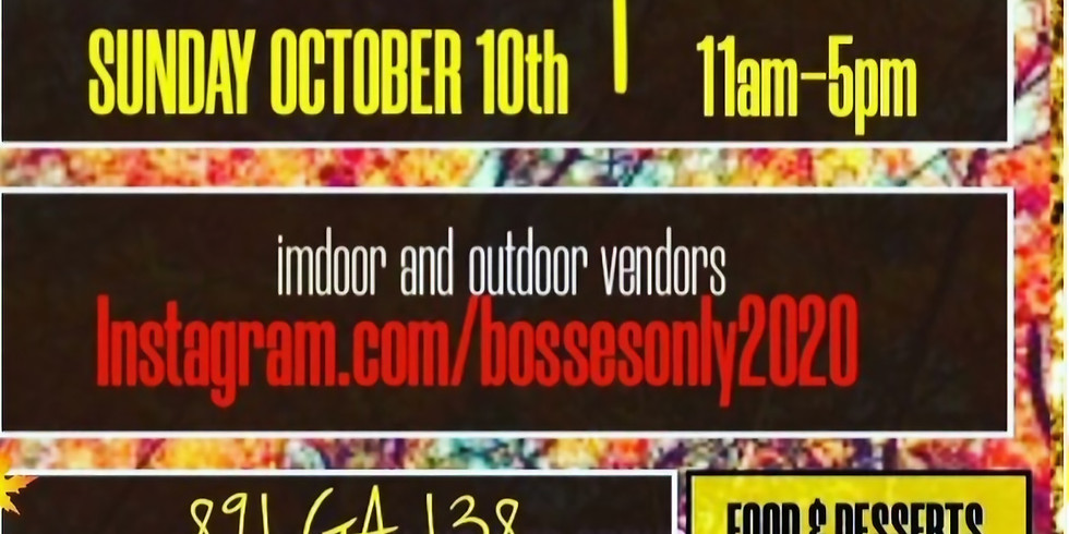 BOSSES POP-UP ONLY SHOP