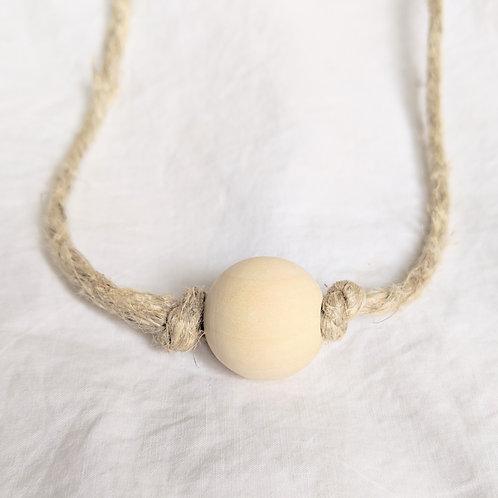 wooden bead necklace | bracelet