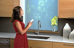 Hunter Douglas motorized shades, Windowear Blinds, Shades and Draperies in Austin, Lakeway, Bee Cave