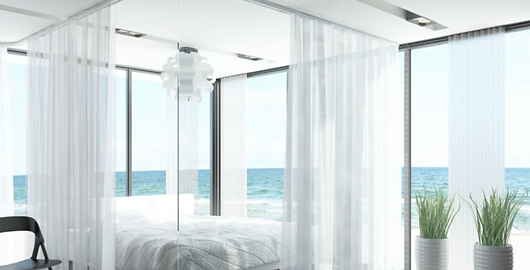 Goelst motorized drapery tracks, Windowear Blinds, Shades and Draperies in Austin, Lakeway, Bee Cave