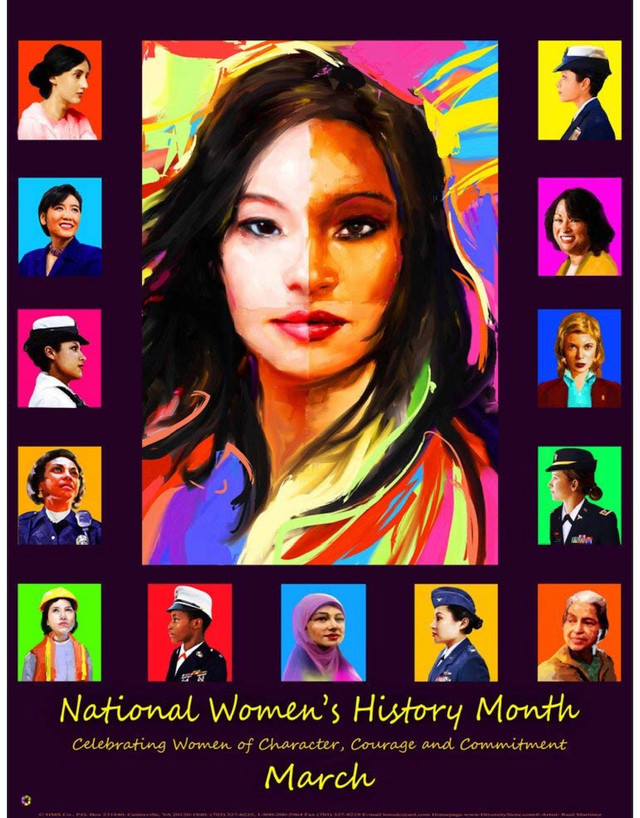 Happy National Women's History Month!
