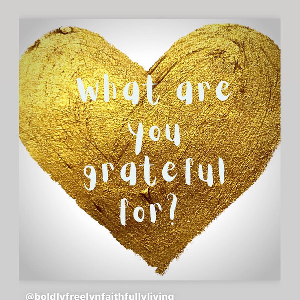 What are you grateful for today?!