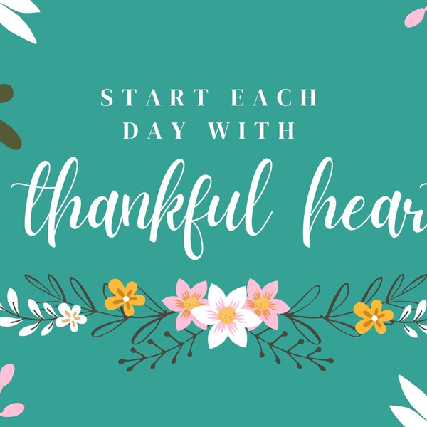 Day 24 of our Thankfulness Challenge