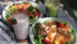 Matcha Çayı ve Salatalar