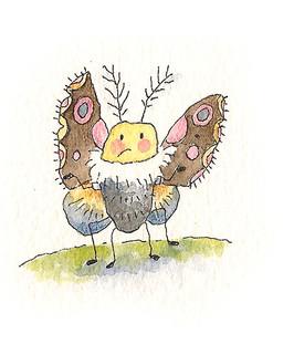 Gary, the older, wiser moth