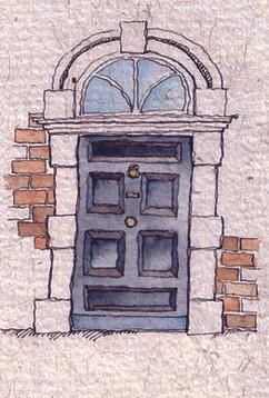 Eccles street door