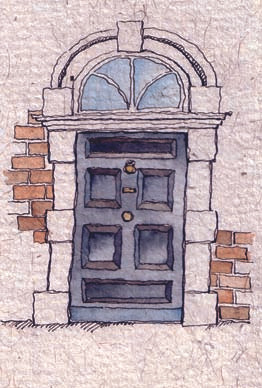 Eccles street door