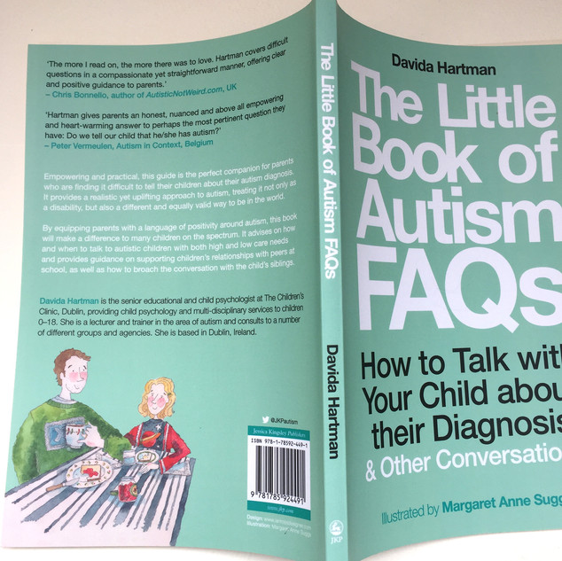 The Little Book of Autism FAQs, by Davida Hartman