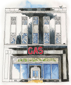 The GAS building
