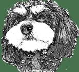 Dog Grooming by MK Logo