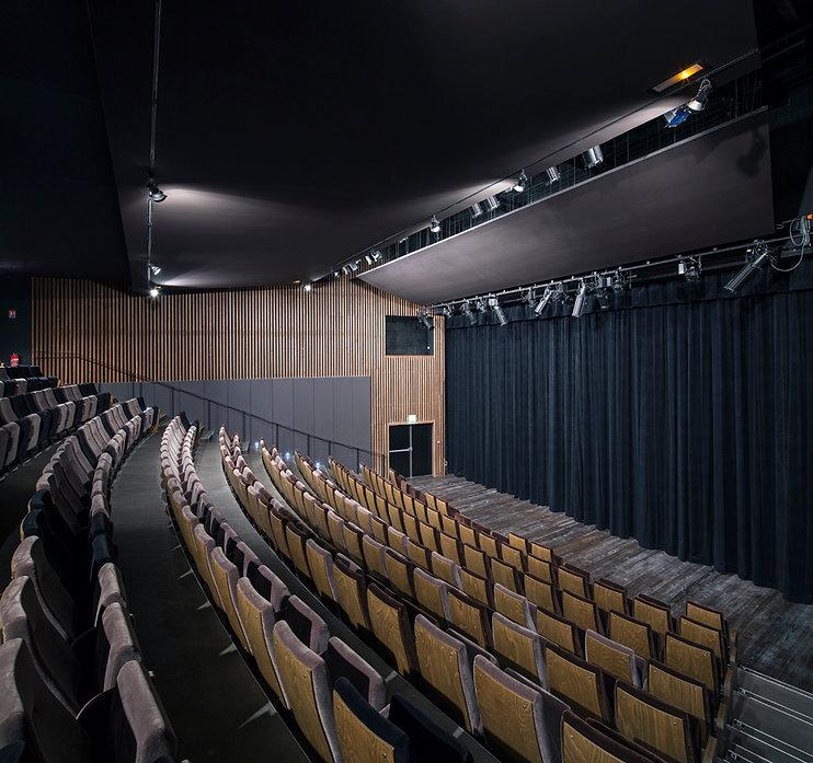 Chelles - auditorium de la médiathèque.j