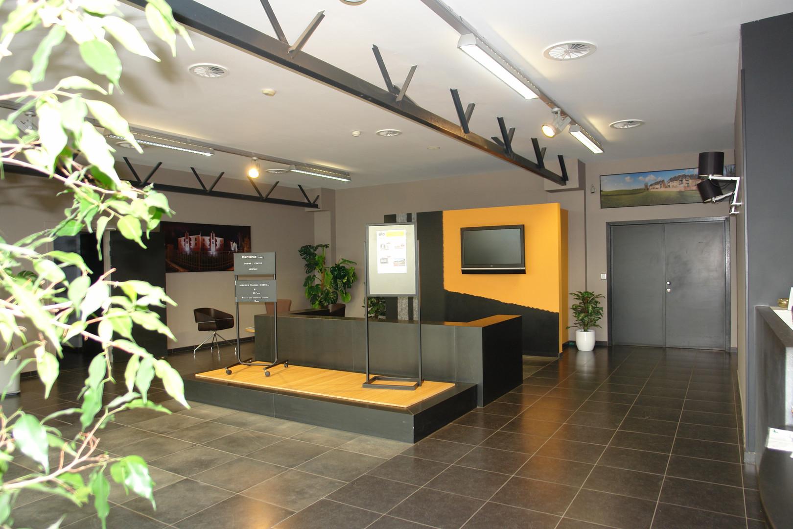 Hall entrée STD SA Bureaux