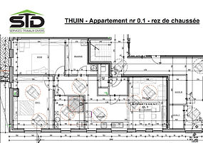 Thuin appartement 0.1 STD SA
