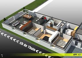 Appartement 0.1 - Mont-sur-Marchienne -