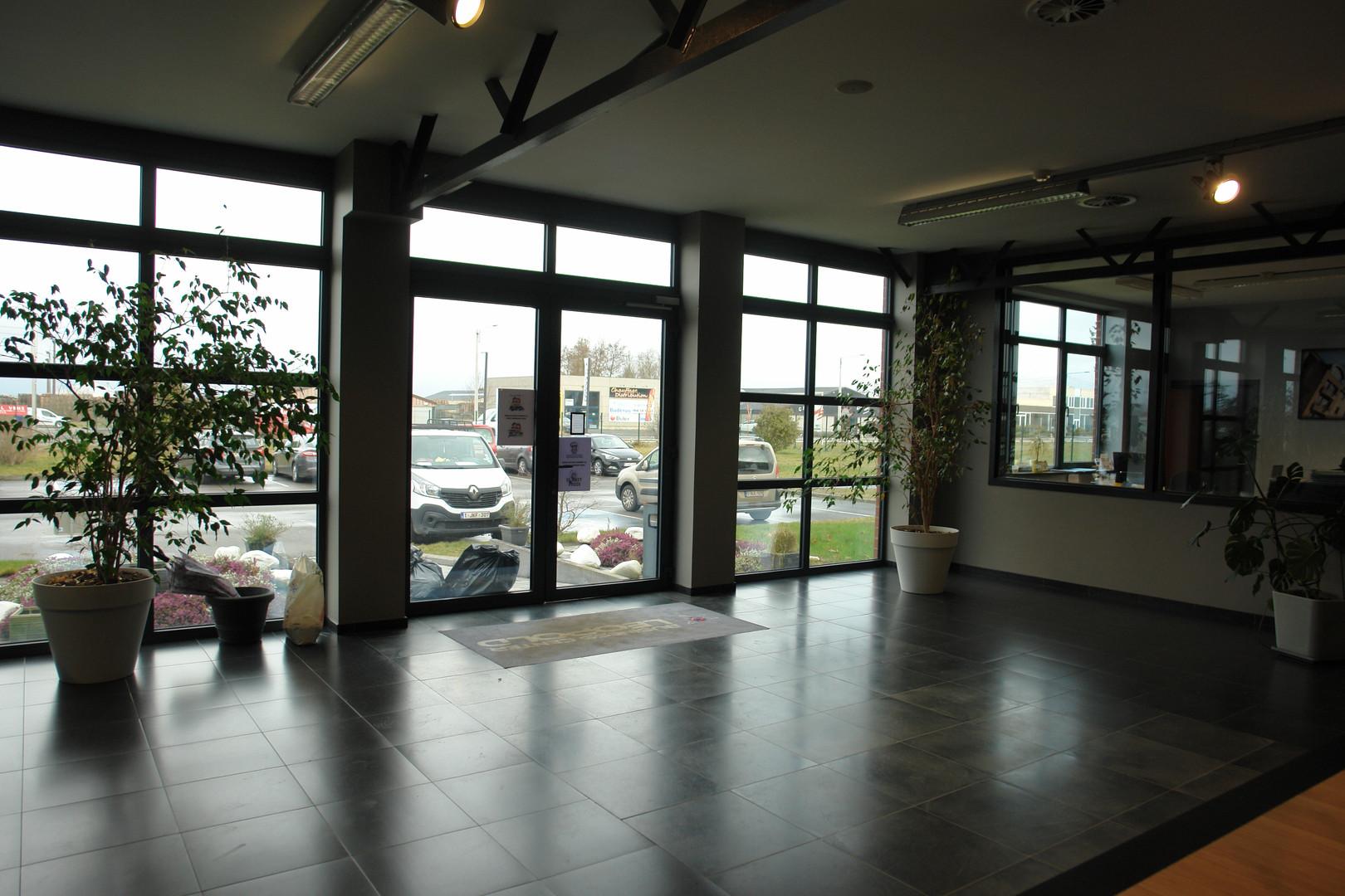 Hall d'entrée Bureaux STD SA