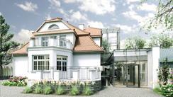 Rozbudowa i adaptacja budynku willowego w Wejherowie