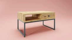 Model 3d i wizualizacja stolika