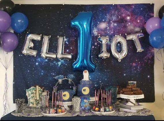 Space Jam Birthday Party