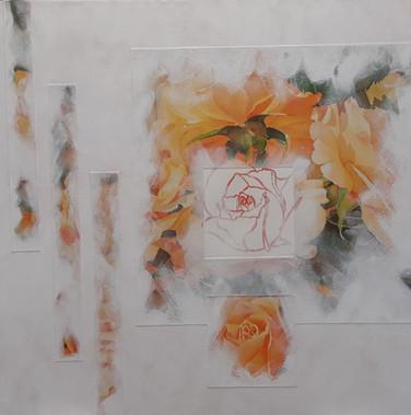 Format toile : 60 x 60 cm