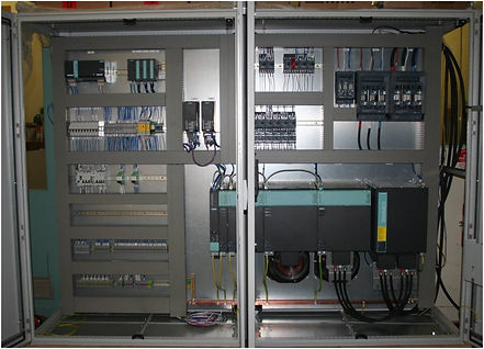 New electrical cabinet with servo drive