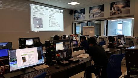 Siemens CNC training