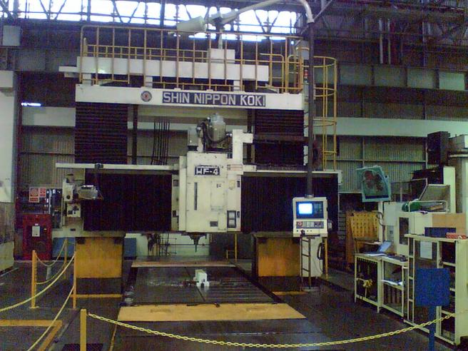 Shin Nippon Koki HF-4 double column cnc machine CNC machine retrofit