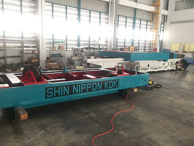 Shin nippon koki machine retrofit