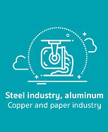 Steel aluminum copper and paper industry
