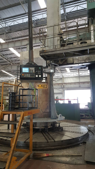 CKD Vertical lathe Machine retrofit