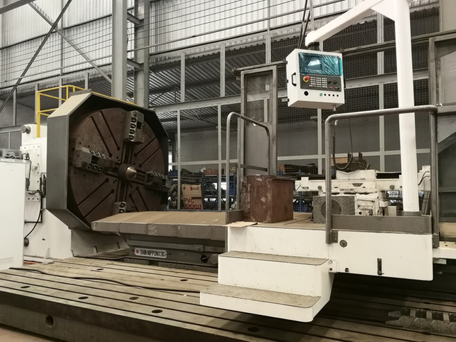 Shin nippon koki lathe machine retrofit