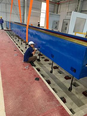 CNC machine foundation