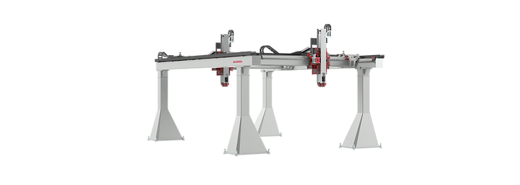Gudel linear axis and gantry