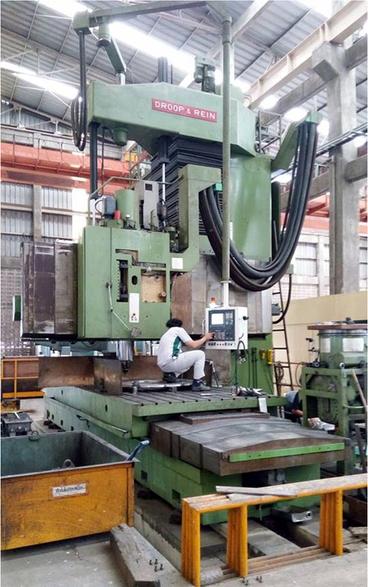 Droop&Rein milling machine overhaul