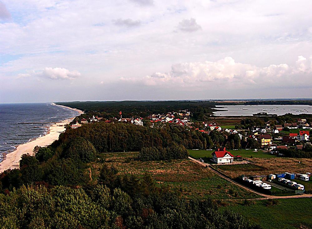 Baltic Coastline near Kolobrzeg, northern Poland
