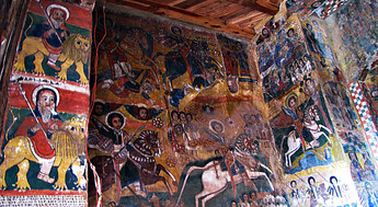Fresco, Church Interior, Tigray, Ethiopia