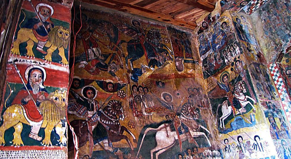 Fresco, Church Interior, Tigray, Ethiopia