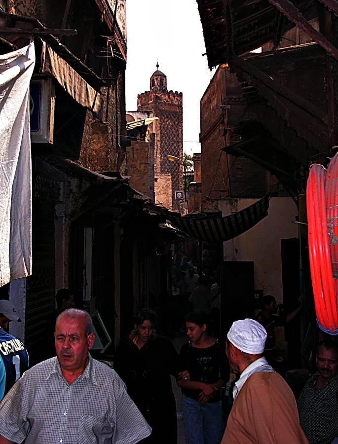 Downtown Meknes, Morocco